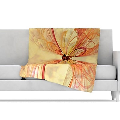 KESS InHouse Papillion Throw Blanket; 40'' L x 30'' W