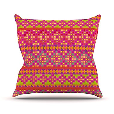 KESS InHouse Mexicalli Throw Pillow; 18'' H x 18'' W