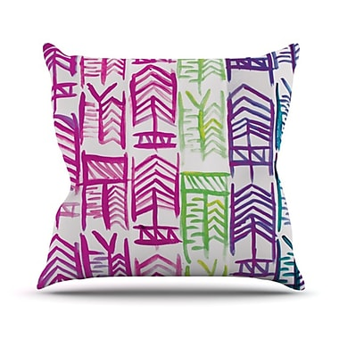 KESS InHouse Quiver III Throw Pillow; 18'' H x 18'' W