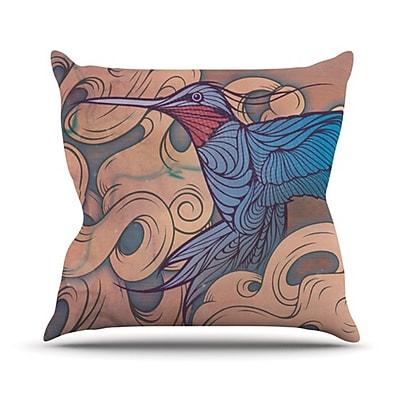 KESS InHouse Aerialism Throw Pillow; 26'' H x 26'' W