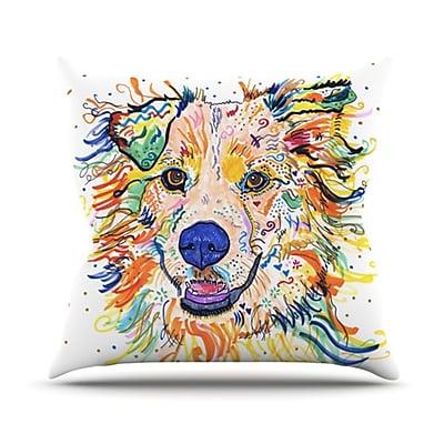 KESS InHouse Jess Throw Pillow; 18'' H x 18'' W