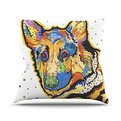 KESS InHouse Floyd Throw Pillow; 20'' H x 20'' W