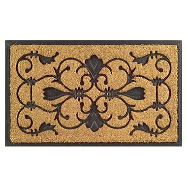 Imports Decor Molded Brigoder Doormat; Rectangle 18'' x 30''