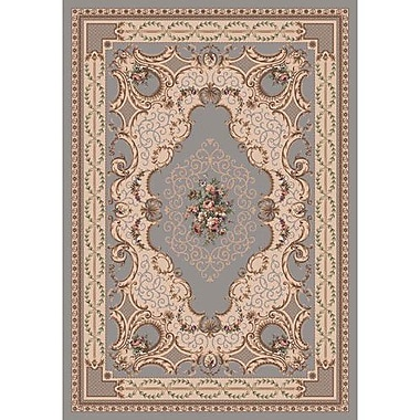 Milliken Pastiche Kashmiran Valette Blue Haze Area Rug; Rectangle 7'8'' x 10'9''