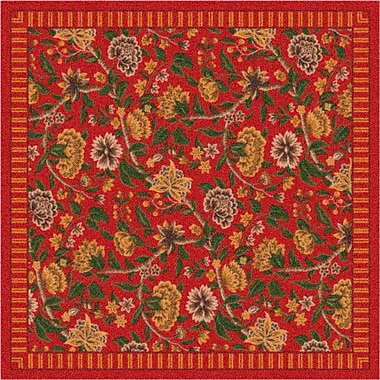 Milliken Pastiche Vachell Indian Red Area Rug; Rectangle 7'8'' x 10'9''