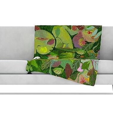 KESS InHouse Jungle Fleece Throw Blanket; 60'' L x 50'' W