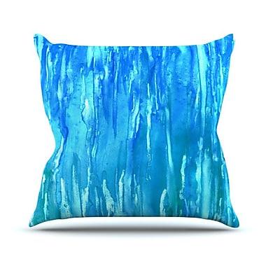 KESS InHouse Wet & Wild Throw Pillow; 18'' H x 18'' W