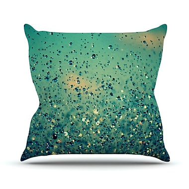 KESS InHouse Lullaby, Close Your Eyes Throw Pillow; 26'' H x 26'' W