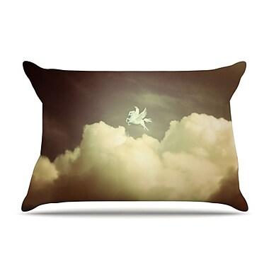 KESS InHouse Pegasus Pillowcase; Standard