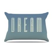 KESS InHouse Dream Print Pillowcase; Standard