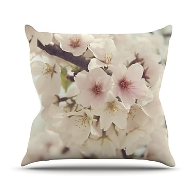 KESS InHouse Divinity Throw Pillow; 16'' H x 16'' W