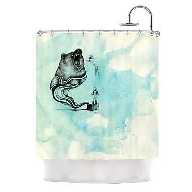 KESS InHouse Hot Tub Hunter III Shower Curtain