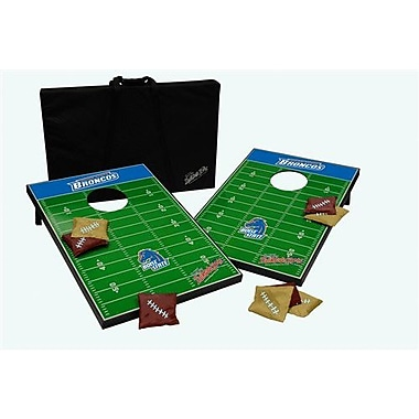 Tailgate Toss NCAA 10 Piece Cornhole Game Set; Boise State