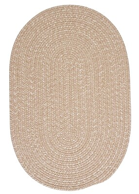 Colonial Mills Tremont Oatmeal Area Rug; Oval 12' x 15'