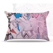 KESS InHouse Unicorn Pillowcase; King