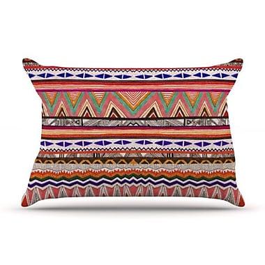 KESS InHouse Native Tessellation Pillowcase; Standard