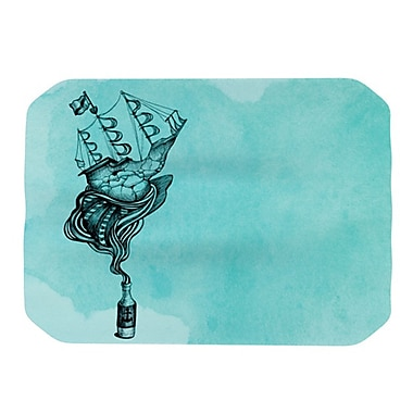 KESS InHouse All Aboard Placemat; Teal