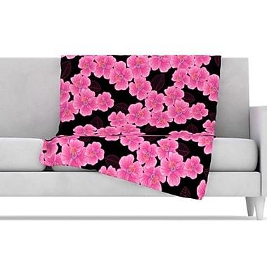 KESS InHouse Throw Blanket; 80'' L x 60'' W