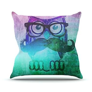 KESS InHouse Showly Throw Pillow; 18'' H x 18'' W