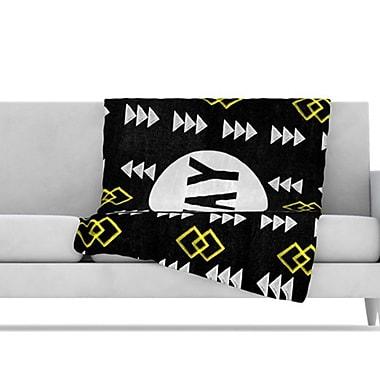 KESS InHouse Yay Fleece Throw Blanket; 40'' L x 30'' W