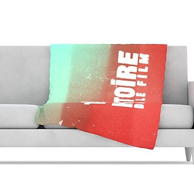 KESS InHouse Toi Histoire Throw Blanket; 40'' L x 30'' W