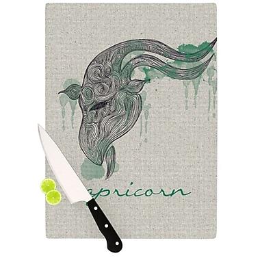 KESS InHouse Capricorn Cutting Board; 11.5'' H x 15.75'' W x 0.15'' D