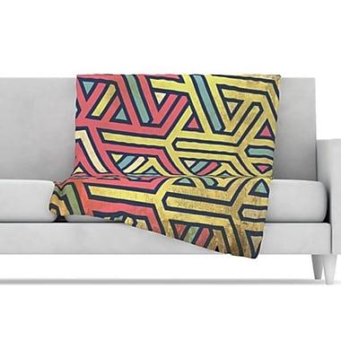KESS InHouse Deco Throw Blanket; 80'' L x 60'' W
