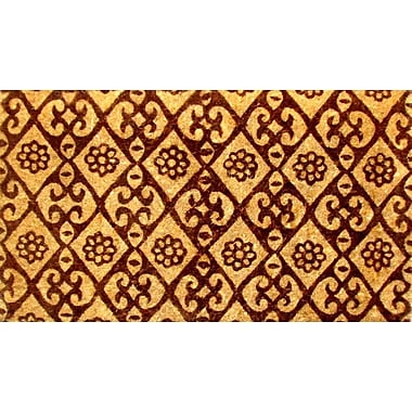 Imports Decor Woven Floral Doormat; Rectangle 18'' x 30''
