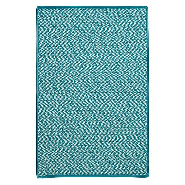 Colonial Mills Outdoor Houndstooth Tweed Area Rug; 7' x 9'