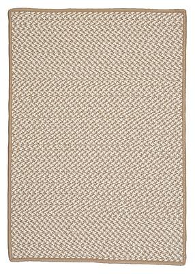 Colonial Mills Outdoor Houndstooth Tweed Area Rug; 3' x 5'