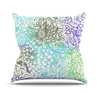KESS InHouse Bloom Softly for You Throw Pillow; 20'' H x 20'' W