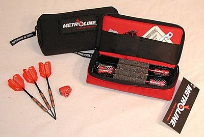 Metroline Mini Metroline Dart Case; Black