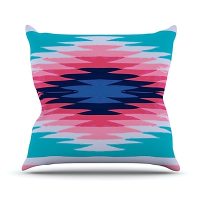 KESS InHouse Surf Lovin II Throw Pillow; 20'' H x 20'' W
