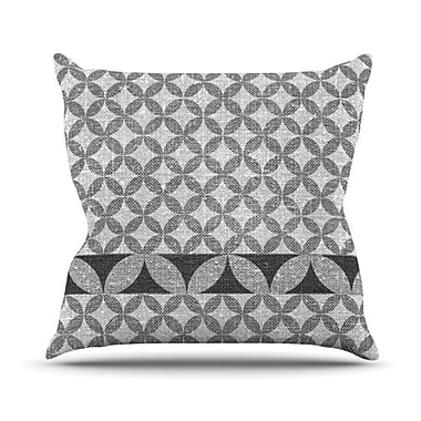 KESS InHouse Diamond Throw Pillow; 16'' H x 16'' W