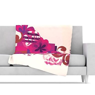 KESS InHouse Fleece Throw Blanket; 80'' L x 60'' W