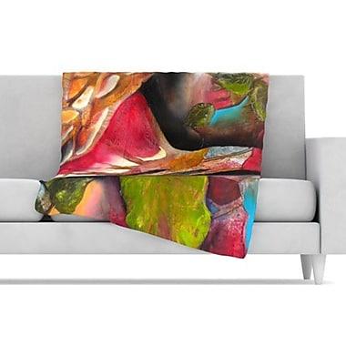 KESS InHouse Glimpse Fleece Throw Blanket; 80'' L x 60'' W