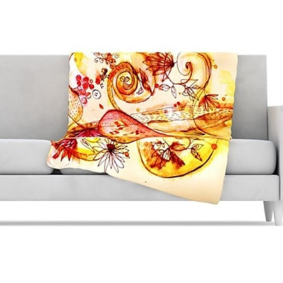 KESS InHouse Tree of Love Fleece Throw Blanket; 60'' L x 50'' W