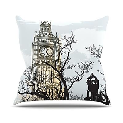 KESS InHouse Big Ten Throw Pillow; 18'' H x 18'' W