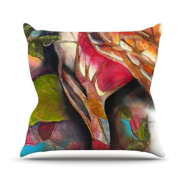 KESS InHouse Glimpse Throw Pillow; 20'' H x 20'' W