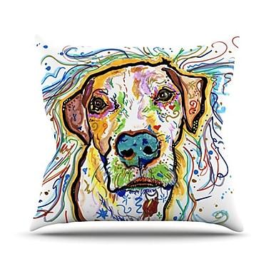 KESS InHouse Ernie Throw Pillow; 26'' H x 26'' W
