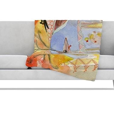 KESS InHouse Promise of Magic Fleece Throw Blanket; 80'' L x 60'' W
