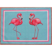 Betsy Drake Interiors Flamingo Placemat (Set of 4)