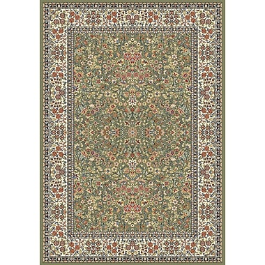 Dynamic Rugs Ancient Garden Green/Ivory Area Rug; 2' x 3'11''