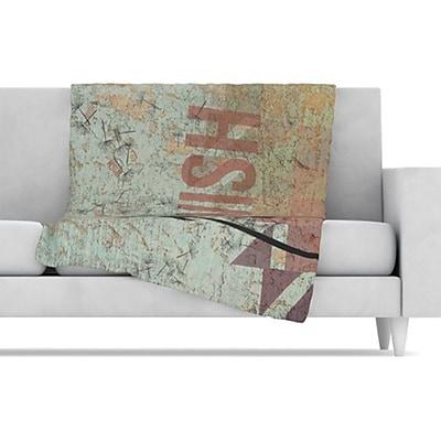 KESS InHouse Wish Fleece Throw Blanket; 80'' L x 60'' W