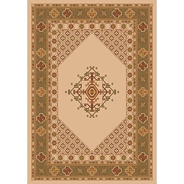 Milliken Pastiche Kashmiran Terkan Boston Creme Area Rug; Rectangle 3'10'' x 5'4''
