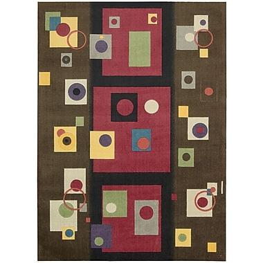 Nourison Modern Arts Chestnut Rug; 8' x 10'