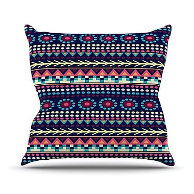 KESS InHouse Aiyana Throw Pillow; 18'' H x 18'' W