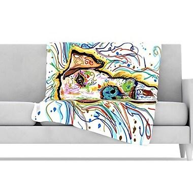 KESS InHouse Ernie Fleece Throw Blanket; 60'' L x 50'' W