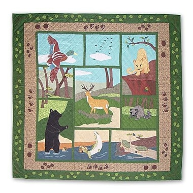 Patch Magic Wilderness Quilt; King