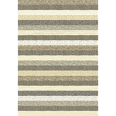 Dynamic Rugs Infinity Gray/Beige Area Rug; 5'3'' x 7'7''